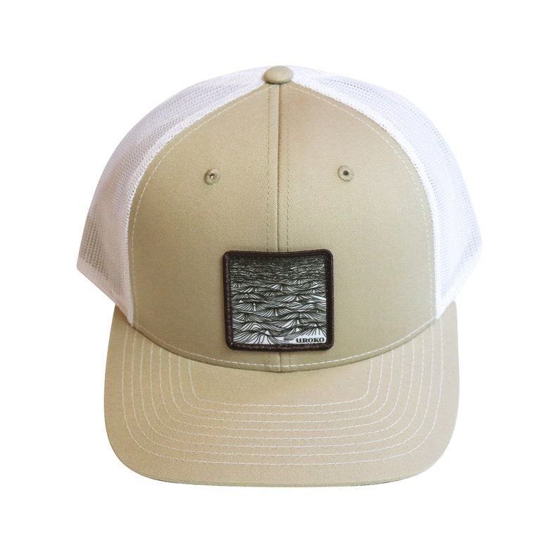 SWELL  design  Two tone  curved bill  trucker hat  image 0