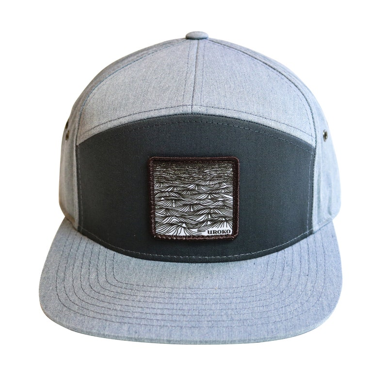 SWELL  7 Panel  Hat  Leather Clasp closure  Street Wear  image 0