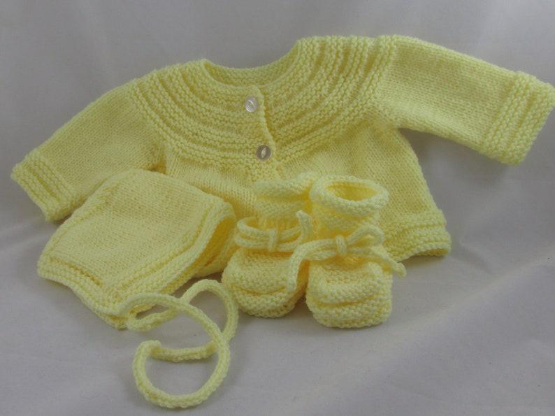 Baby Sweater Set image 1