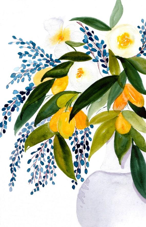 Flowers in Vase Note Cards (set of 6)