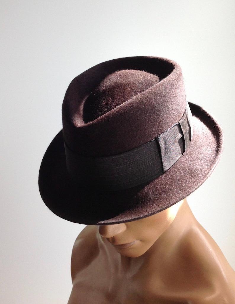 61a3ae7b40d 1950 S STETSON Fedora   Frank SINATRA   Quality Fur Felt