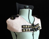 High Neck Collar Capelet, Steampunk, Circus, Visual Kei, Steam Procession Style, Custom Size