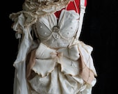 Eco Rustic Cottage Victorian Gown for Weddings & Formals Custom Size