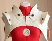 Steampunk, Circus, Avant-Garde Explorer Capelet with Collars s, m, l, or xl