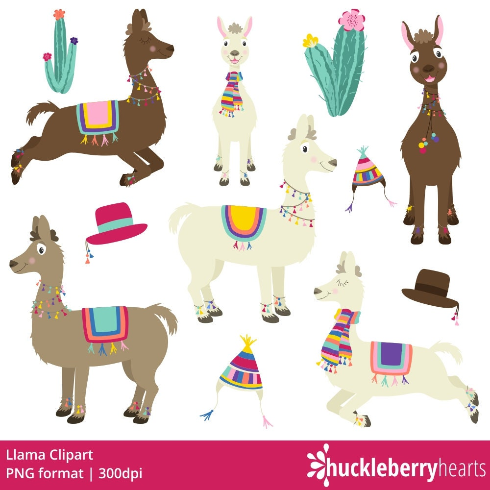 llama clipart llama clip art llamas alpaca digital llamas etsy rh etsy com lama clip art llama clipart baby shower invite