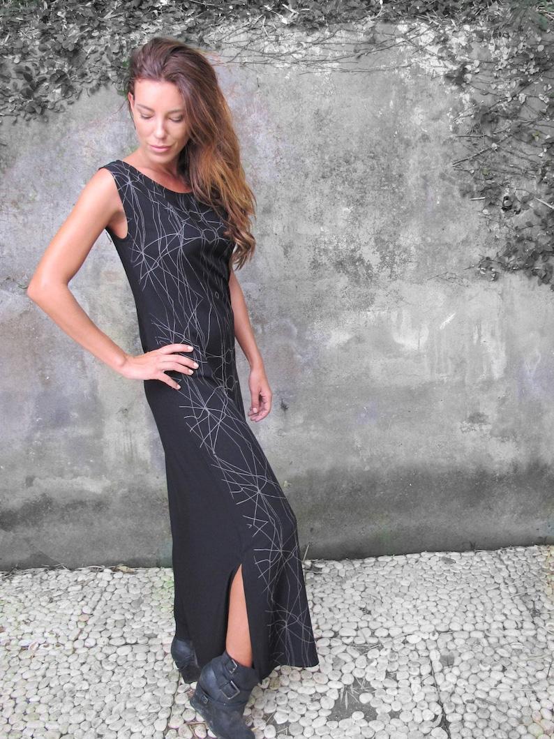KleidLange Lässige Schwarzes KleidungÄrmellose Kleid Gypsy Boho Chic Maxi Stammes Langes SchwarzeSexy nw8NPXO0k