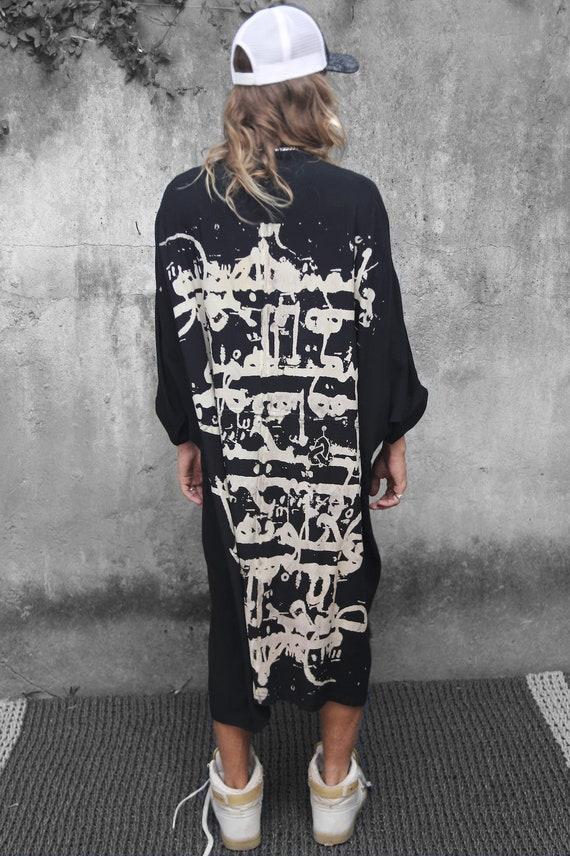 Men Tunic Ethnic Fashion Ethnic Clothing Burning Man Men Man\u2019s Boho Festival Outfit Burning Man Wear Kaftan Dress Boho Clothing