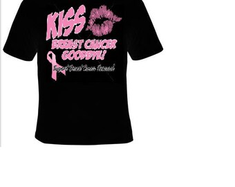 TShirts: kiss breast cancer good bye T-shirts