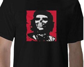 CHE  guevara - ASESINO skull face Tshirts clothes T Shirts Tees, Tee T-Shirt designs funny cool tee shirt