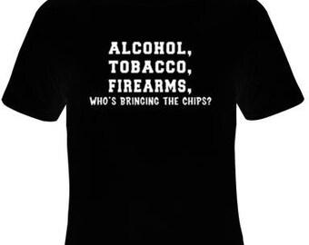 TShirts: alcohol tobacco firearms  tee t shirts Cool Funny Humor TShirts Tees, T-Shirt designs