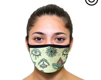 boho eyes Face masks