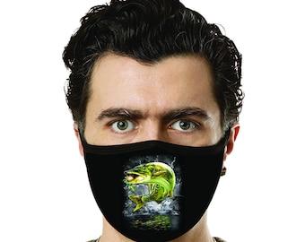 MUSKIE FISH  Face-masks