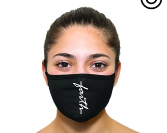 Faith face mask cover your face C.Y.F