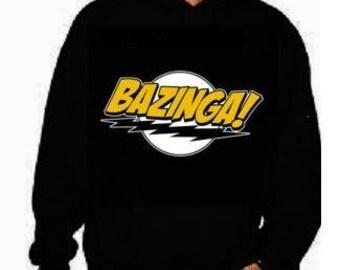 bazinga Hoodies  bazinga hoodie sweater shirt hooded cool movie