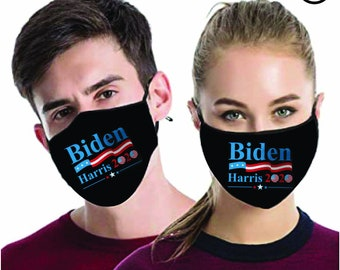 Biden Harris 2020 MATCHING Couples masks - Match Face MASK -  2 pcs