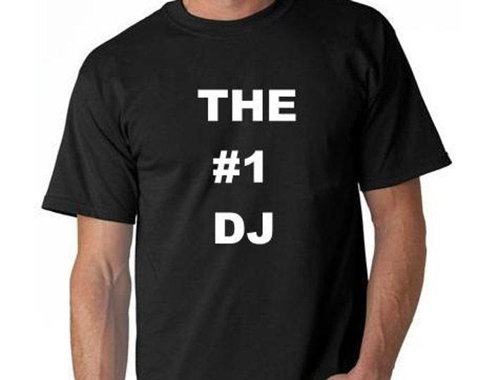 the # 1 dj club T SHIRT cool funny tee shirt gift present