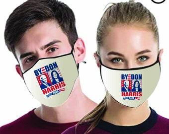 JOE Biden Harris 2020 MATCHING Couples masks - Match Face MASK -  2 pcs