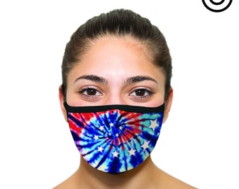 tie dye  | Face masks
