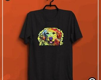 GOLDEN RETRIEVER Dog  t shirts