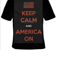 keep calm and america on Tshirts funny coolest  t shirt  design