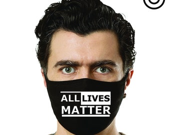 All lives matter face mask cover your face