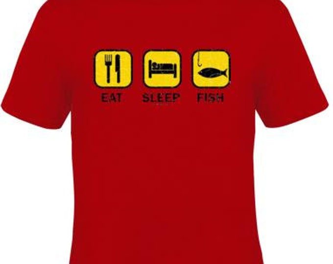 Tee-Shirts:eat sleep fish t shirts UNIQUE Cool Funny Humorous clothes TShirts Tees, Rude Tees T-Shirt design