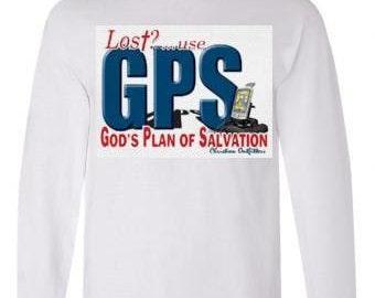 Tshirts:gps navigation Long sleeved shirts Cool Funny long-sleeved T Shirt graphic design sleeves