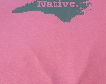 states t shirt natives home tee shirt  north carolina native usa state t-shirt T shirts cool tee