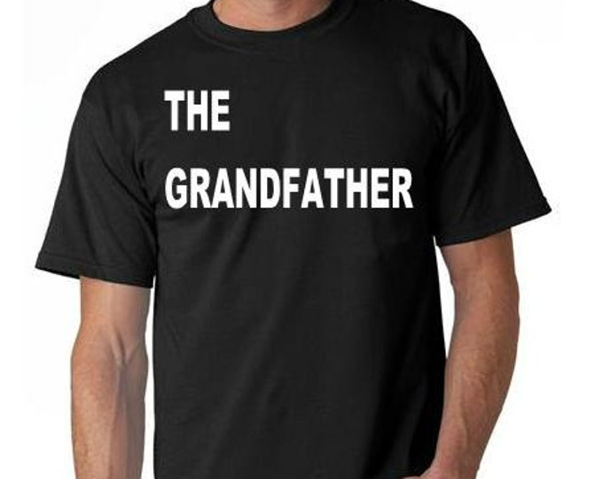 the grandfather  T-SHIRT cool funny tee shirt great gift present