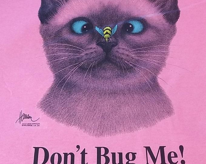 dont bug me cat t-shirts T shirt funny shirt kitten