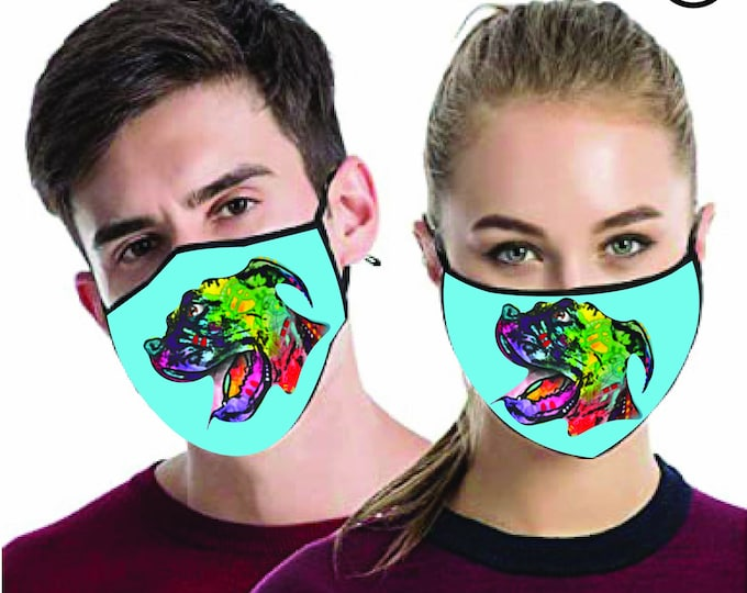 MATCHING Couples masks - Match Dog Face MASK -  2 pcs