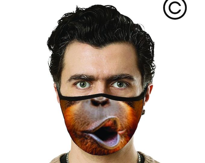 ORANGUTAN  MASKS- face mask