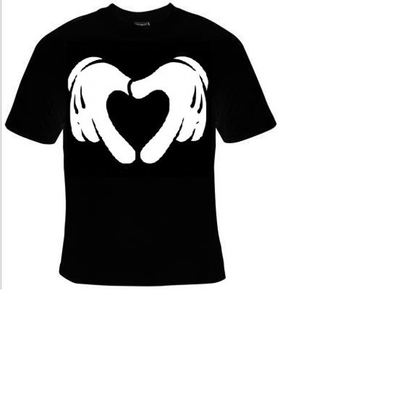 Funny Retro Cartoon Hand Heart Gesture LGBT Gay Pride 2019 unisex t-shirt gift