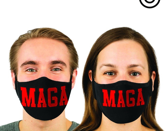 Match MAGA Face MASK | MATCHING Couples masks -  2 pcs