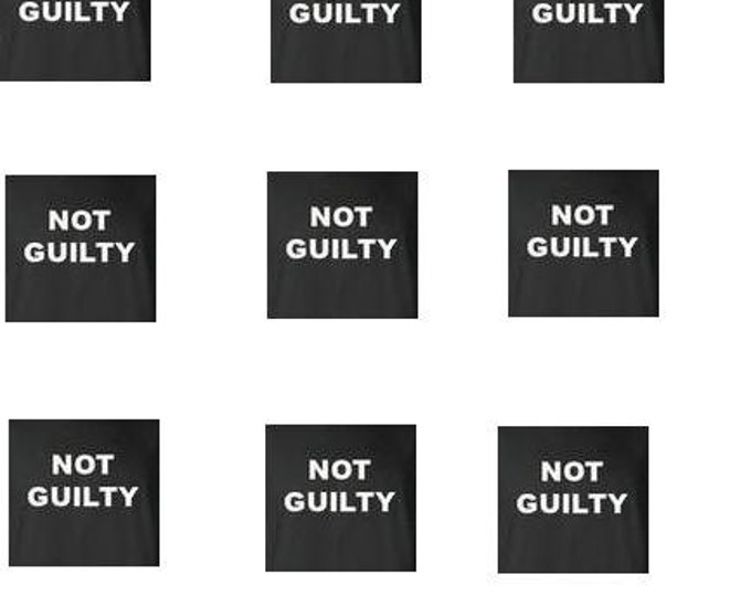 not guilty hoodie