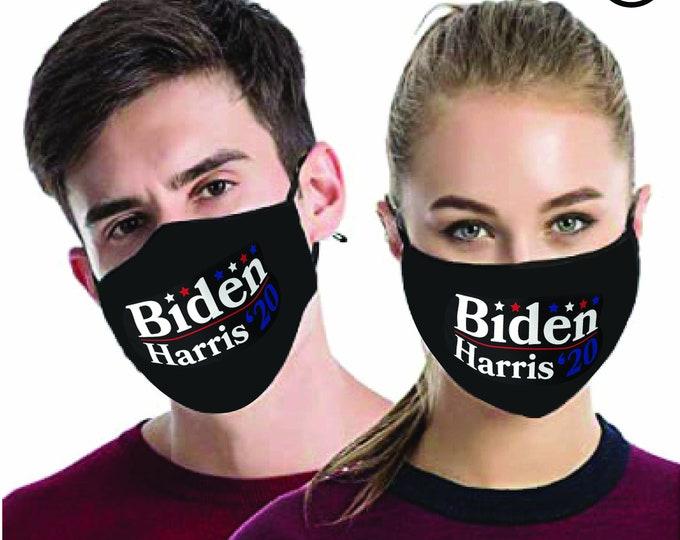 JOE Biden Harris 2020 MATCHING- Couples masks - Match Face MASK - biden 2 pcs
