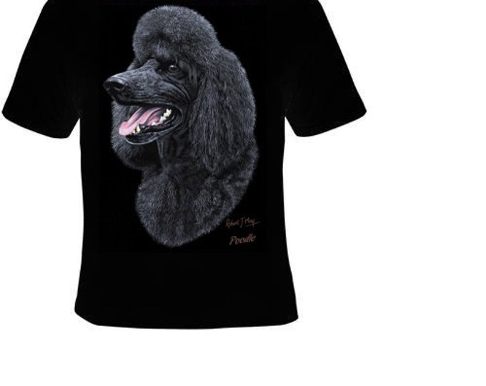 poodle dog cute cool funny  T-shirts tee t shirt teez dogs