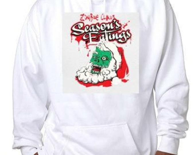 hoodie zombie clause christmas xmas gift hoodie sweater shirt hoody t-shirts hoodies
