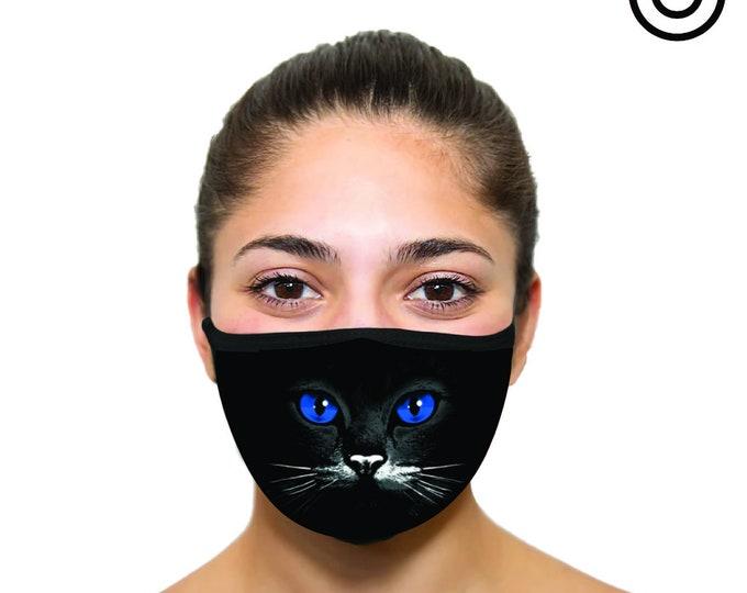 cats blue eyes Face masks