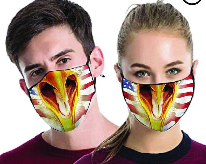 eagle FACE MASK , match Face MASK couple | Matching Couples Face masks - 2 pcs