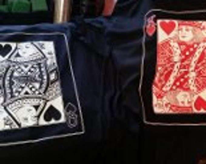 matching king queen cards t-shirts tee Couples cute  t shirts Cool Funny couples tshirts card gamble t-shirt casino