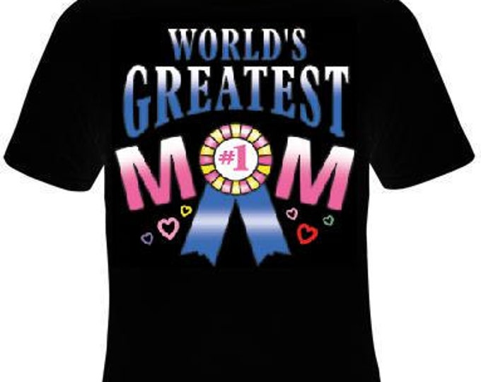 Tshirts: worlds greatest mom #1 T Shirt lovely Tees, Tee T-Shirt design cool mothers day moms specials gifts mama