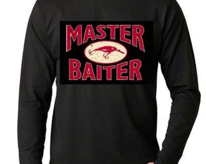 Master  Long sleeve shirt  Cool Funny Humorous long sleeved T Shirt design sleeves tee