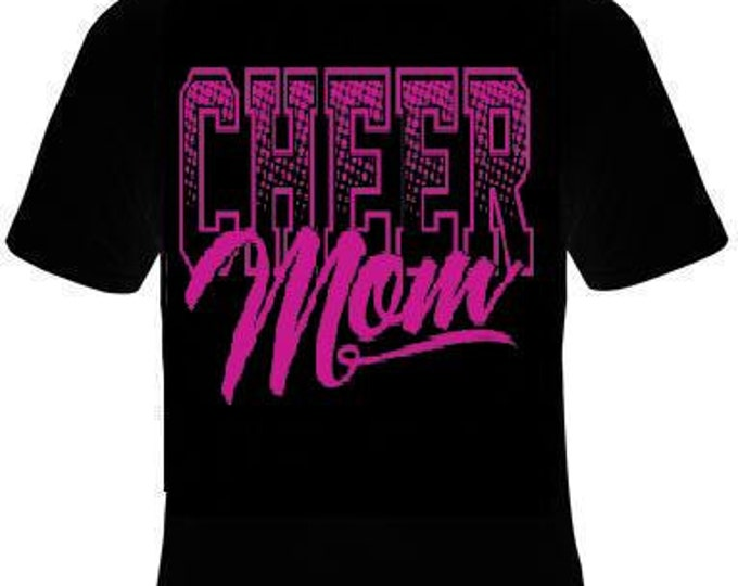 cheer mom  T Shirt lovely Tees, Tee T-Shirt design cool mother moms special gift mama