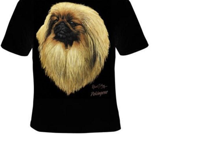 pekingese TShirt  pekingese dog cute cool T-shirts tee t shirt dogs puppies lovers pets teez