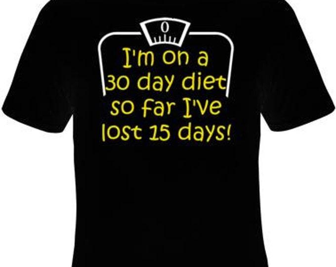 teez 30 day diet tee shirts Cool Funny Humor TShirts Tees, Rude Tees Offensive T-Shirt design