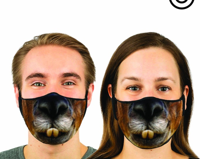 ALPACA Face MASK | MATCHING Couples masks -  2 pcs face covering
