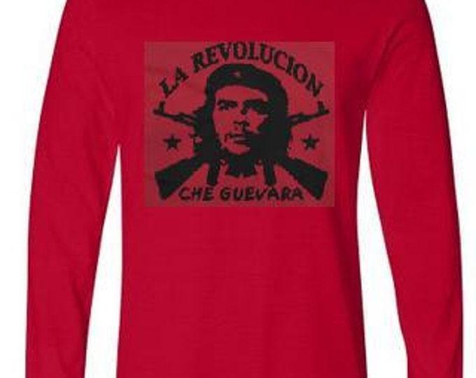 LA REVOLUCION CHE guevara long sleeve Tshirts