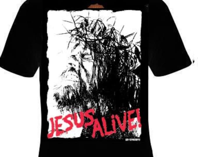 t-shirts jesus alive T-shirt unisex  tee shirt jesus the god