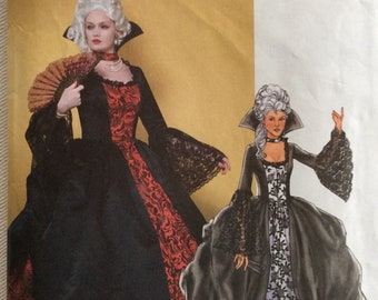 Butterick Pattern 4315 - 18th C. Robe à la Française Gown/Costume/Marie Antoinette Pannier Gown - Sizes 14-20 UNCUT